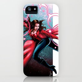 Scarlet Witch - Wanda Maximoff iPhone Case