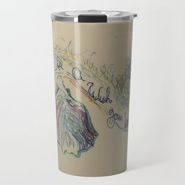 A dream is a Wish your heart Makes 2 Travel Mug