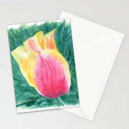 Tropical Tulip by Teresa Thompson Stationery Cards