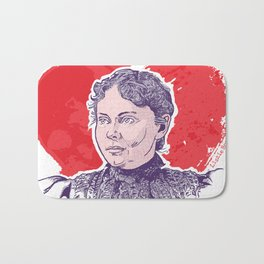 Love, Lizzie Borden Bath Mat