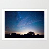 Starry Skies Art Print