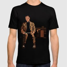 Forrest Gump Black MEDIUM Mens Fitted Tee
