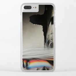 'Spectrum of the Universe' Clear iPhone Case
