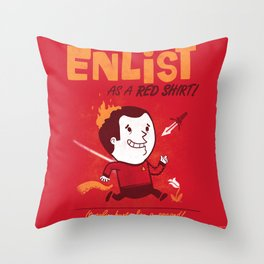Enlist! Throw Pillow
