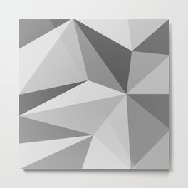 Different shades of Grey Metal Print