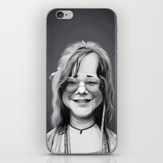 JanisJoplin iPhone & iPod Skin