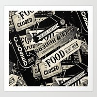 food Art Prints featuring FOOD by Vivian Fortunato