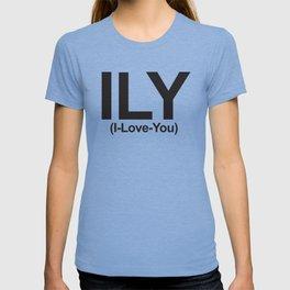 ILY (I-Love-You) T-shirt
