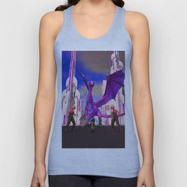 AC!D DREAMZ: Fighting the Dragon Unisex Tank Top