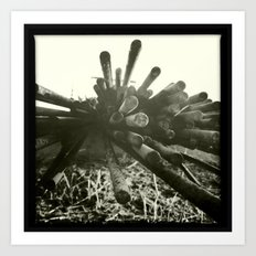 rust / rouille Art Print