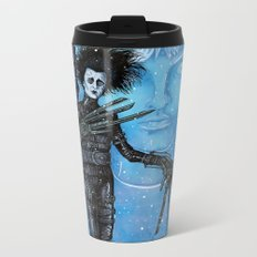 Edward Scissorhands Johnny Depp Metal Travel Mug