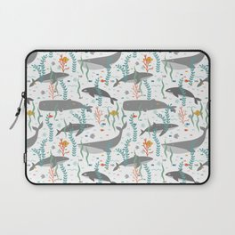 Whales of the Sea Laptop Sleeve