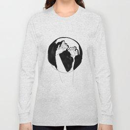 moonlight hands Long Sleeve T-shirt
