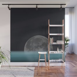 Lonely Moon Wall Mural
