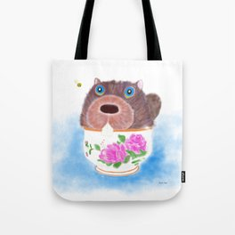 """There's a Beaver in My Sugar Bowl!"" Tote Bag"