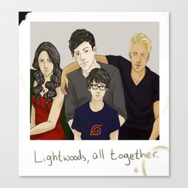 The Lightwoods Canvas Print