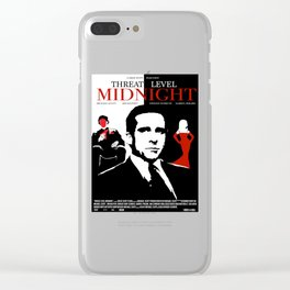 The Office: Threat Level Midnight Movie Poster Clear iPhone Case