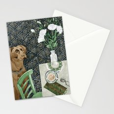 Geometry Labrador Stationery Cards