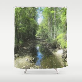 A Brand New Journey Shower Curtain