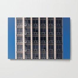 CFO Building Metal Print