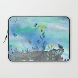 Blue Garden I Laptop Sleeve