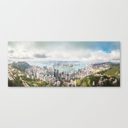 Victoria Harbour of Hong Kong Canvas Print