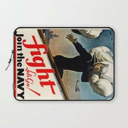 Fight let's go ! Join the Navy Laptop Sleeve