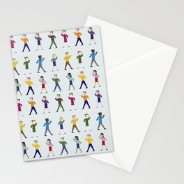 Dance like an egyptian Stationery Cards