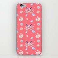 """sylveon iPhone & iPod Skins featuring """"Sweet"""" Fairy Bakery by Miski"""