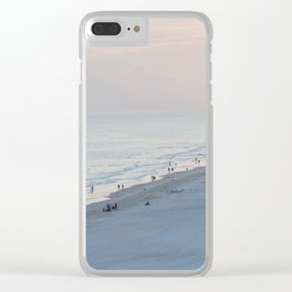 Sea Meets Land Clear iPhone Case