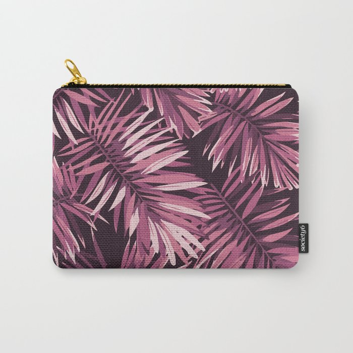 Rose palm leaves Carry-All Pouch