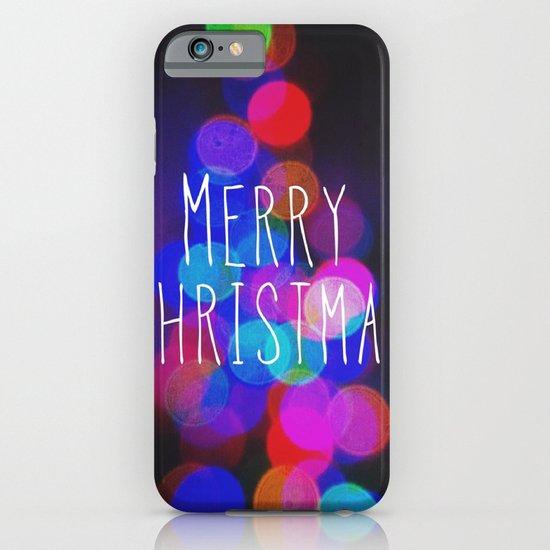 Merry Christmas iPhone & iPod Case