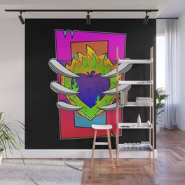 Infernal Heart of Darkness Wall Mural