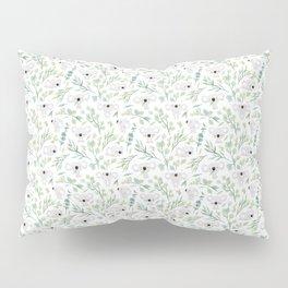 Koala and Eucalyptus Pattern Pillow Sham