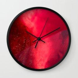 Gemstone_July_Ruby_A Wall Clock