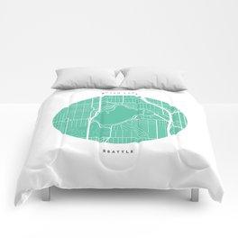 Green Lake, Seattle Comforters