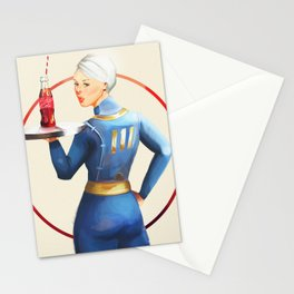 Nuka Cola Pinup Stationery Cards