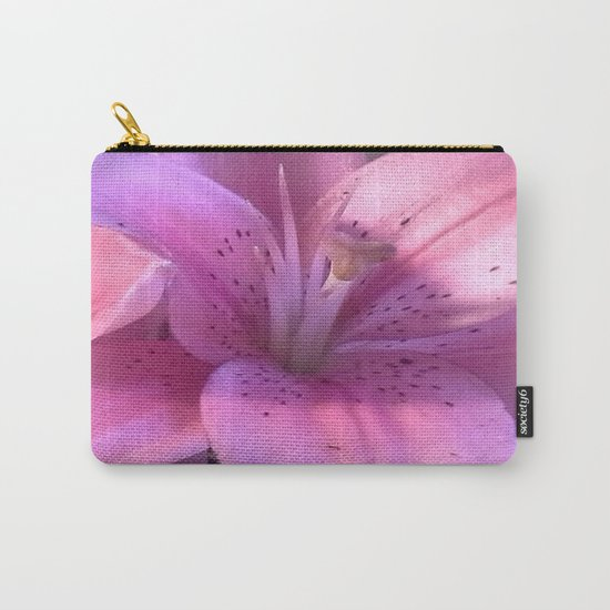 Lily: A Closeup Carry-All Pouch