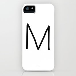 M LOVE iPhone Case