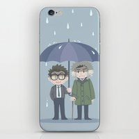 pacific rim iPhone & iPod Skins featuring Pacific Rim - Rainy Day by feriowind