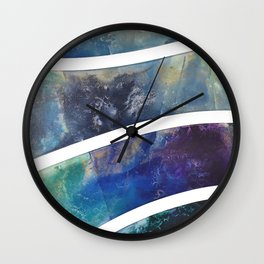 Shore Line II Wall Clock