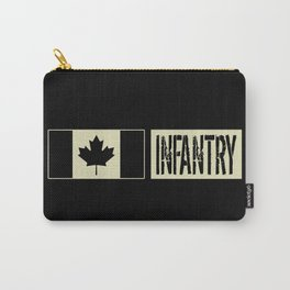 Canadian Military: Infantry (Black Flag) Carry-All Pouch