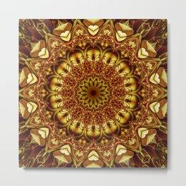 Mandala divine Love Metal Print