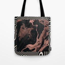 Suminagashi // 002 — Rose Gold Daydreams Tote Bag
