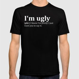 Ugly Dictionary Meme T-shirt
