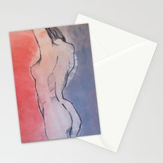 nude 01 Stationery Cards