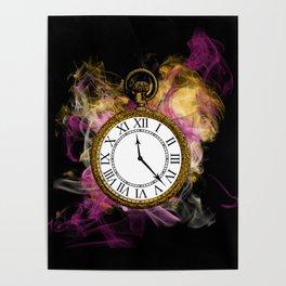 Time - Alice in Wonderland Poster