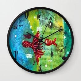 I VI Wall Clock