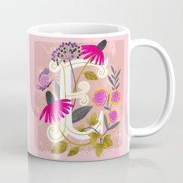 Artsy Alphabet: E Coffee Mug