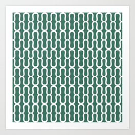 Fir Brackets Art Print